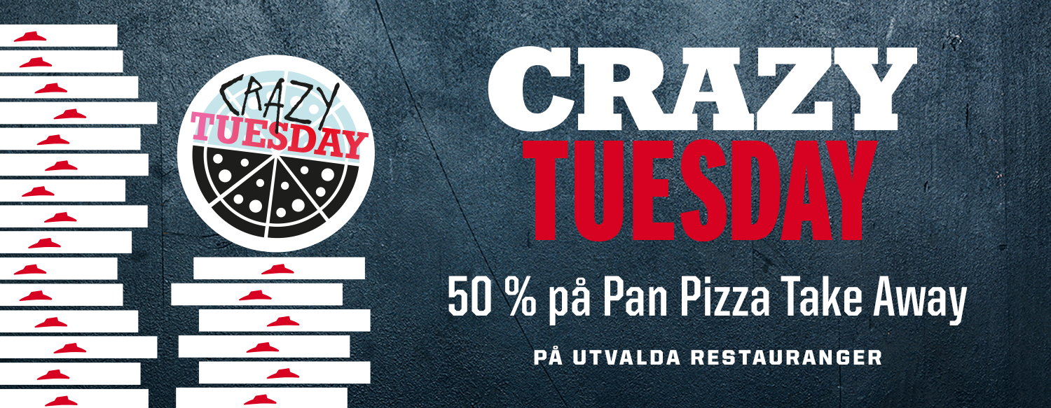 Pizza Crazy Tuesday